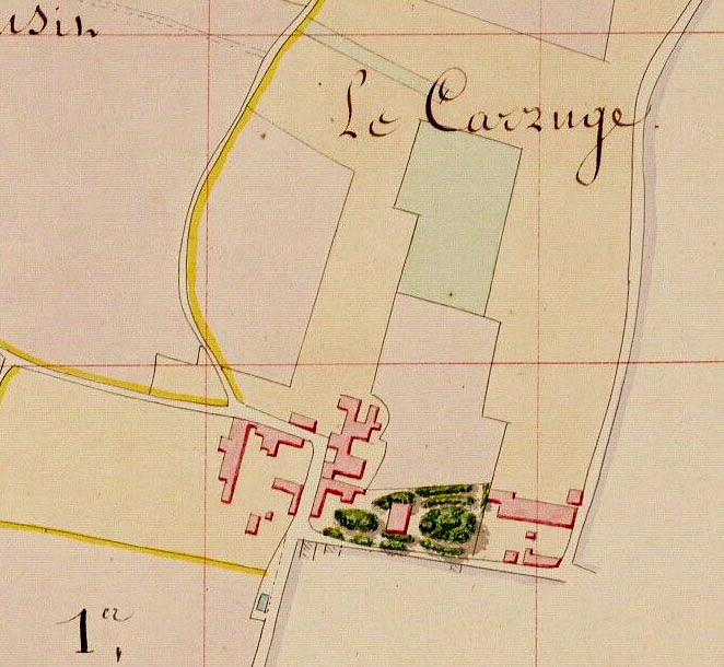PLAN CARRUGE 1886
